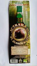 Bison gras Alkoholische getränk gewürze Gras, ZUBROWKA, 100% Natürlich kräuter