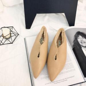 Scarpe eleganti e Beige Capelli Mocassini Donna confortevoli Classic Ballerine qHTf1CC