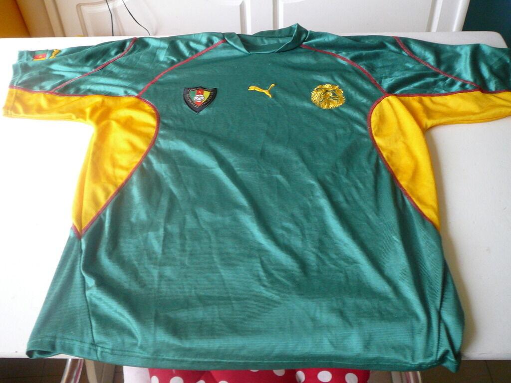 Fußballtrikot Kamerun Puma vintage vintage vintage XL 31d1c9