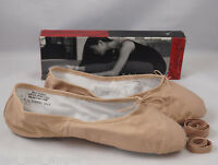 Capezio Women's Split Sole Ballet Shoe Sz. 12m In Pink Model Cg2002