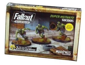 Modiphus, Fallout Wasteland Warfare Super Mutants Suiciders, New