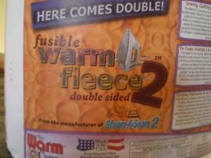 Warm Fusible Fleece 2