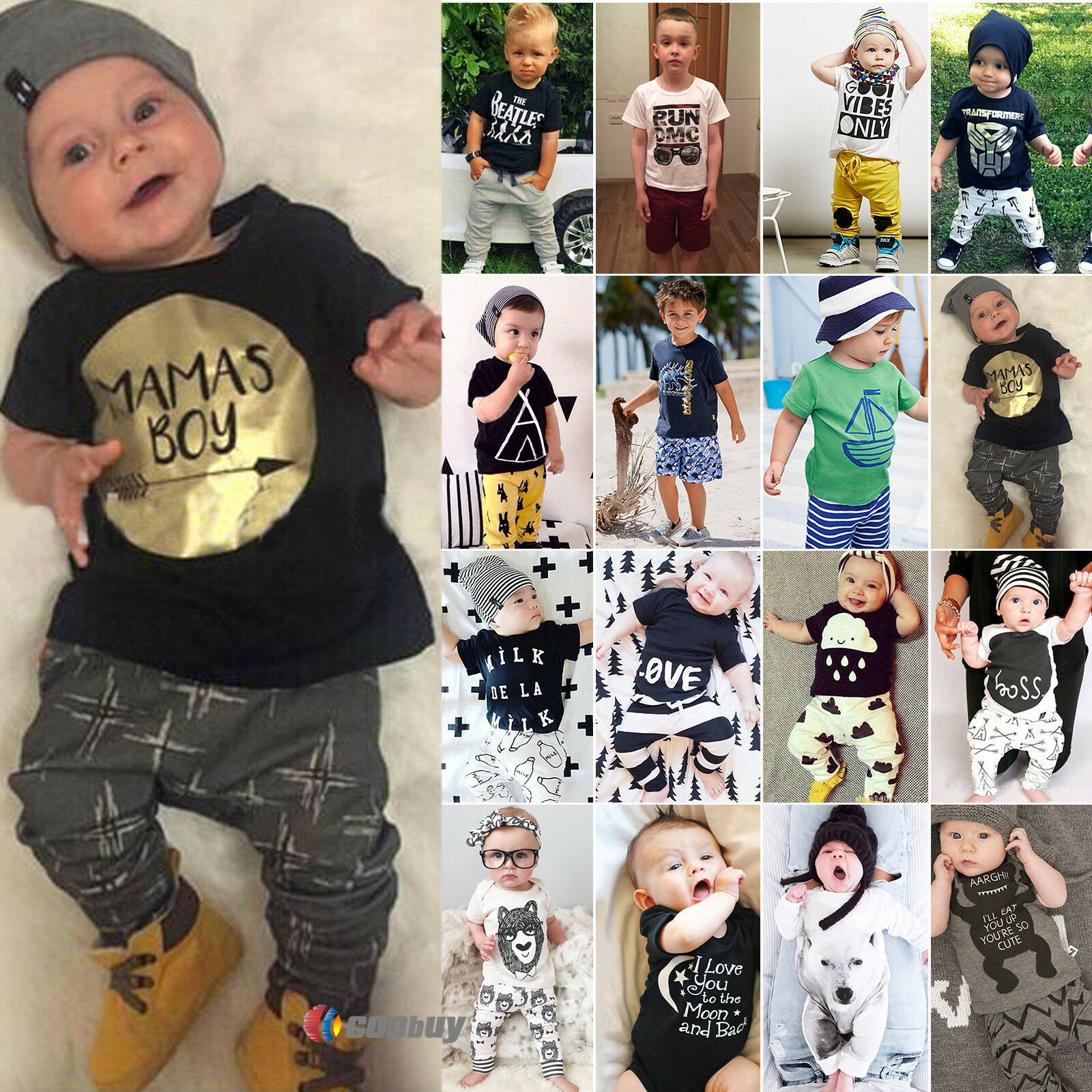 Outfits Sets Boys Clothing Boys