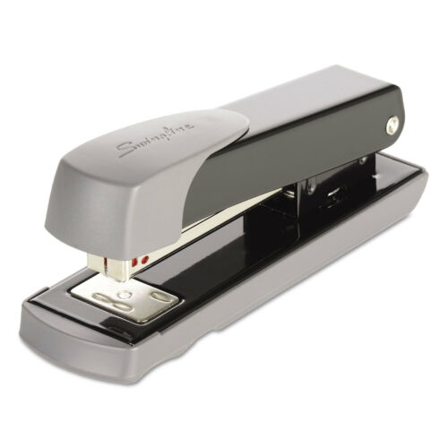 Swingline Compact Commercial Stapler Half Strip 20-Sheet Capacity Black 71101