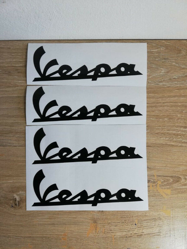Piaggio Vespa stickers graphics / vinyl cut decals