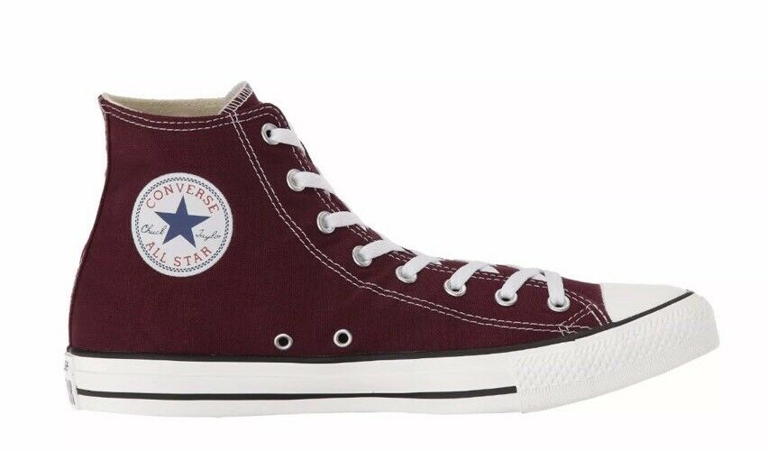 New Converse Hi-Top Burgundy Men Size 11 Women's shoes Size 13