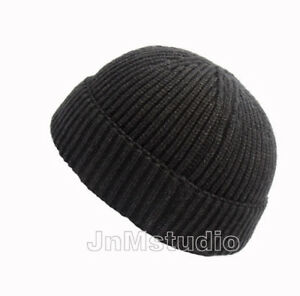 920cf8c5bb12e Men Women Knitted Miki Cap Warm Knit Skull cap Beanie hat HipHop ...