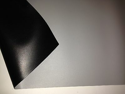 """ProScreens 110/"""" WHITE movie PROJECTOR projection SCREEN MATERIAL 58/"""" x 100/"""""""