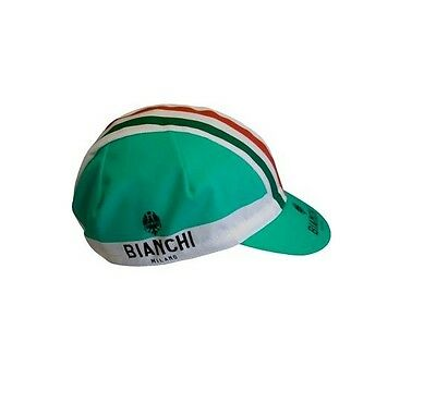 BIANCHI MILANO RETRO CYCLING BIKE CAP