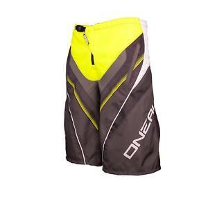 ONEAL-Element-FR-Short-Giallo-MTB-DH-MX-CROSS-SHORTS-PANTALONI-Downhill-Mountain-Bike-FR