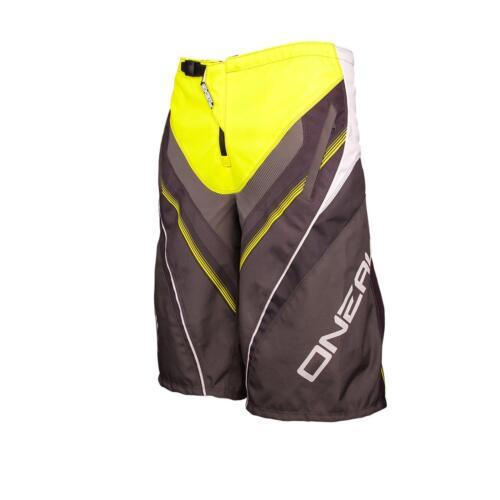 Oneal elemento FR short amarillo MTB DH MX Cross shorts pantalones downhill mountain bike FR