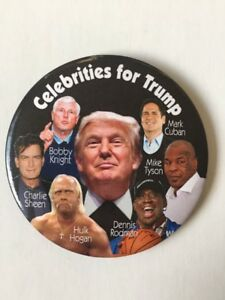 Celebrities-Donald-Trump-for-President-3-5-034-Button-034-Make-America-Great-Again-034