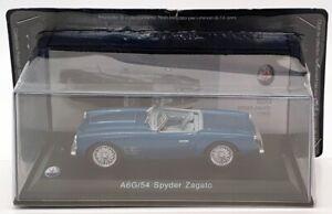 ALTAYA SCALA 1/43 AM30720C - 1955 MASERATI A6G/54 Spyder Zagato-Blu Metallico