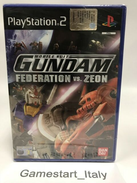 MOBILE SUIT GUNDAM FEDERATION VS ZEON - SONY PS2 - NUOVO SIGILLATO - NEW PAL