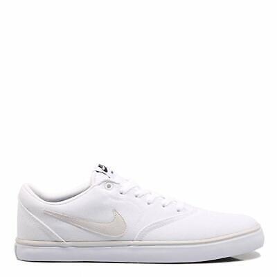 Nike SB Check Solar 843896 002 Scarpe da ginnastica di tela nere