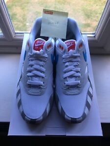 36cf753cf2e NIKE AIR MAX 1 x PARRA UK8 US9 sean off Wotherspoon White 97 Presto ...