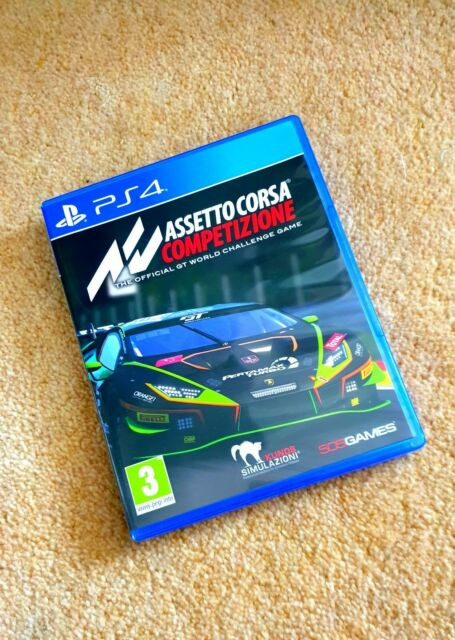 PS4 Assetto Corsa Competizione, Nearly New, Fully Working.