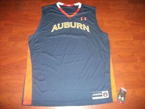 Under Armour Auburn Tigers Ncaa Blank Basketball Jersey Men S Size Xl Wt