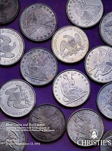 Christie S Us Coin Coins Dollar Banknotes Paper Money Catalog Auction Book Ebay