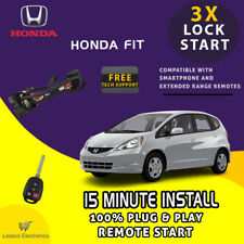 Plug Amp Play Remote Start Fits 2009 2014 Honda Fit With Standard Key Start