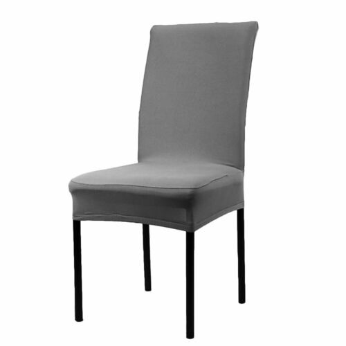 Dining Chair Covers Wedding Slipcovers Stretch Seat Covers Home Decor US