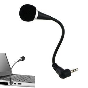 Flexible-3-5mm-Mini-Mic-Jack-Microphone-Speaker-For-PC-Laptop-Notebook-Desktop