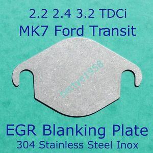 EGR-Valve-Blanking-Plate-FORD-MK7-Transit-2-2-2-4-tdci-Land-Rover-Citroen-Relay