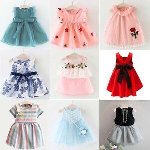 Flower-Girl-Princess-Dress-Summer-Kids-Baby-Party-Wedding-Pageant-Formal-Dresses