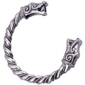 Unisex-Viking-Drache-Armband-Bracelet-Drache-Kopf-Schmuck-Geschenk-Armreif-ye