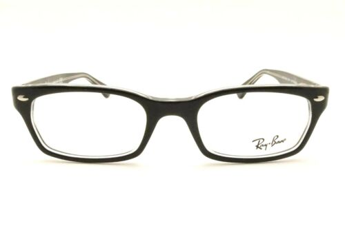 3220be08c2 RAY BAN RB 5150 2034 Black Crystal Eyeglass New Authentic RX Frame ...