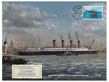 Cunard 175th Anniversary – Lusitania Remembered Special Cover (TI96)