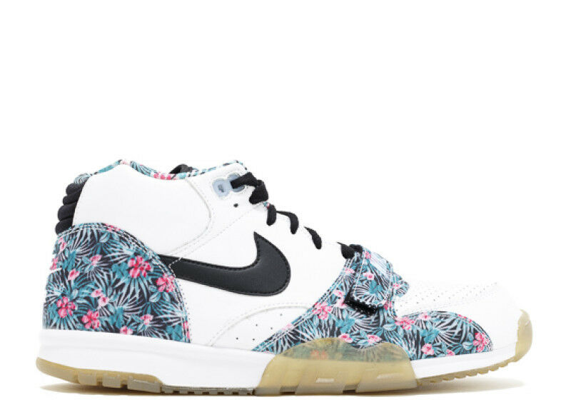 NIKE AIR TRAINer 1 MID PRM PRO BOWL PB QS FLORAL 652939 100 SIZE 9 Seasonal price cuts, discount benefits