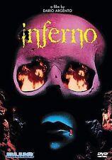 Inferno DVD Dario Argento (Blue Underground) NEW/SEALED OOP