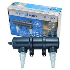 JEBAO PU-18 UV CLARIFIER STERILIZER FOR POND KOI AQUARIUM FISH TANK, 18-WATT