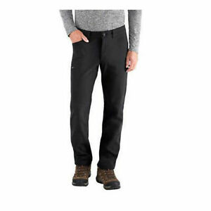 BC-Clothing-Expedition-Men-039-s-Fleece-Lined-Soft-Shell-Pants-Cargo-Black-42x32