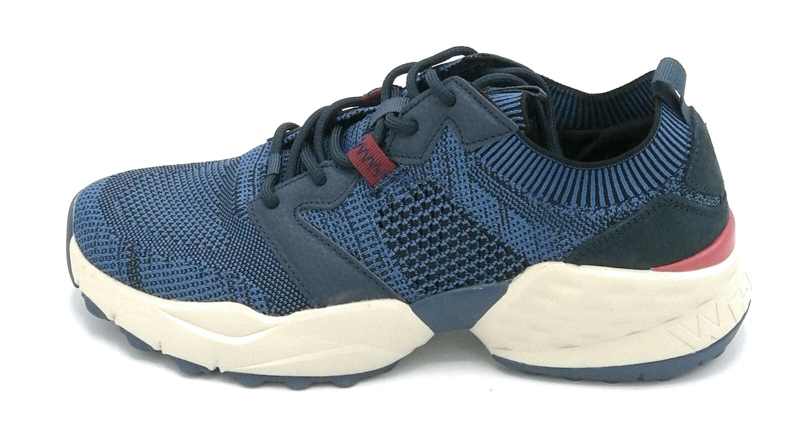 Wrangler WM01100 Sneaker Laces Stretch Fabric Air Force Blue W