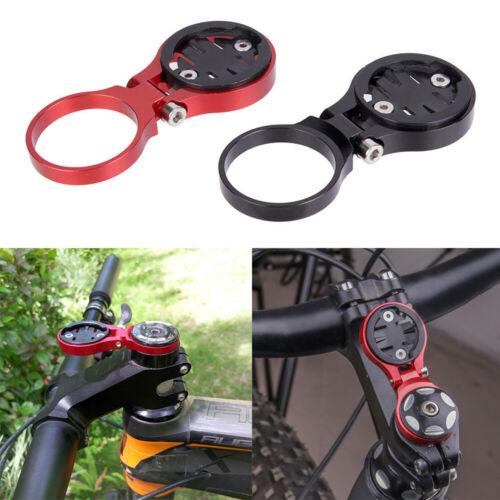 Bike Bicycle Stem Extension Computer Mount Holder For Garmin Edge GPS Adjustable