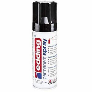 edding-5200-Spray-permanent-Noir-fonce-brillant-200-ml-peinture-acryliqu