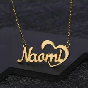 big custom name necklace