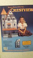 Dollhouse Miniature Duracraft Mansions Crestview Dollhouse Kit