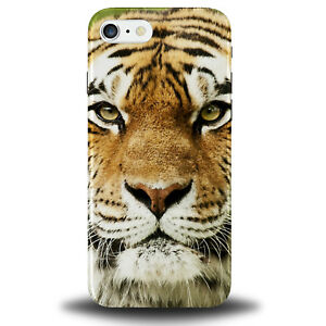 Details about Tiger Face Phone Case Cover Tigers Gift Orange Present Wild  Pattern 535