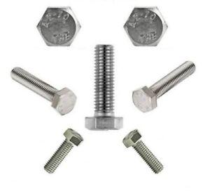 tuercas-hexagonales-DIN-933-Acero-Inox-V2A-Completamente-ROSCA-M3-M4-M5