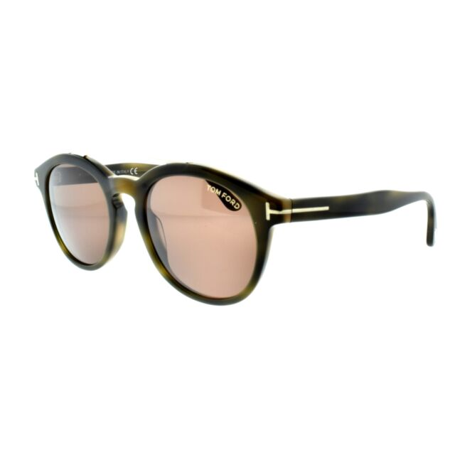 8b5f1f666027b Tom Ford Newman Round Sunglasses Ft0515 55e 53 Brown Lenses for sale ...