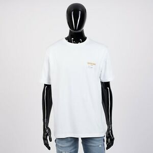 DIOR-HOMME-550-White-Cotton-Jersey-Tshirt-With-Christian-Dior-Visitor-Patch