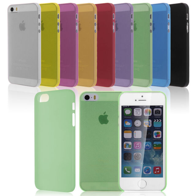 0.3mm Ultra Thin Soft TPU Gel Back Case Cover Skin for Apple iPhone 5 5G 5S AU12