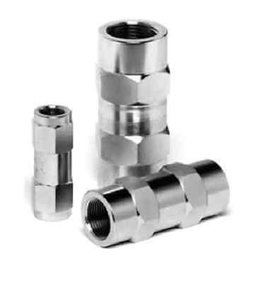"""Clapet anti-retour hydraulique check valve clapet en ligne taraudé 1//8/"""" 65 PSI"""