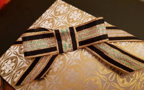 Savoy rosa dorado negro nacarado Cinta de Boda Navidad Cumpleaños Pastel