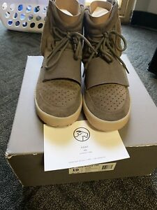 Tamaño Adidas Light 10 Brown Chocolate Yeezy 750 Boost Goma wqxn6p0qgr