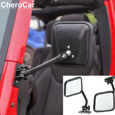 For Jeep Wrangler Mirrors Doors Off For Tj Jk Side Mirrors Quick Release Parts Fits 1999 Jeep Wrangler