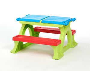Fine Details About Kids Activity Table Bench With Storage In Outdoor Toddler Plastic Furniture Unemploymentrelief Wooden Chair Designs For Living Room Unemploymentrelieforg